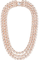 Larkspur & Hawk - Antoinette Rivière Rose Gold-dipped Topaz Necklace - one size