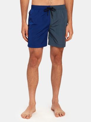 Everest Isles Swimmer ECONYL Colorblock Swim Trunk Shorts