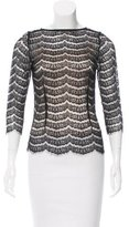 Ulla Johnson Lace Long Sleeve Top
