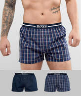 Boss 2 Pack Woven Boxers