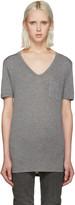 Alexander Wang Grey Jersey Pocket T-shirt