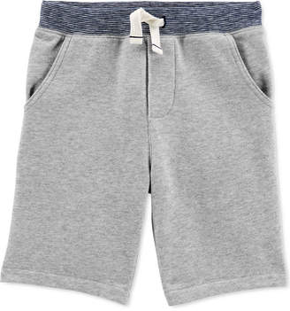Carter's Carter Little & Big Boys Cotton Pull-On French Terry Shorts