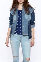 RD Style Mixed Denim Jacket