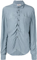 Marni long sleeve draped shirt - women - Viscose - 40