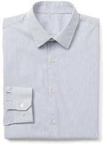 Gap Stretch Poplin pinstripe standard fit shirt