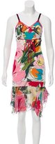 Blumarine Sleeveless Printed Dress
