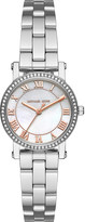 Michael Kors Petite Norie Silver-Tone Watch