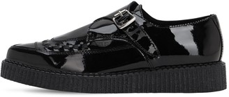 Underground 30mm Buckled Patent Leather Loafers