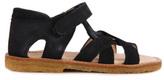 Angulus Sale - Velcro Crossed Suede Sandals