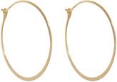 Melissa Joy Manning XL Hoop Earrings - Yellow Gold
