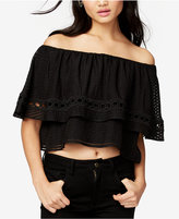 Rachel Roy Ruffled Off-The-Shoulder Top, Only at Macy's