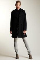Nicole Miller Ruffle Coat
