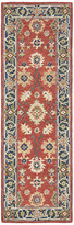 """Blue Area Newcastle Home Asher Vintage Bohemian Red and Rug, 2'6""""x8'"""