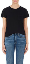 Barneys New York WOMEN'S SILK-CASHMERE SHORT-SLEEVE SWEATER