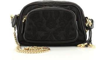 Prada Corsaire Convertible Belt Bag Embroidered Quilted Tessuto
