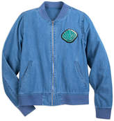 Disney Ariel Chambray Bomber Jacket for Women - Oh My