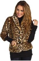 Graham & Spencer Velvet by Cam02 (Faux Fur) (Leopard) - Apparel