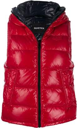 Duvetica quilted zip-up gilet