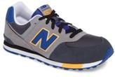 New Balance Boy's 574 Cut & Paste Sneaker