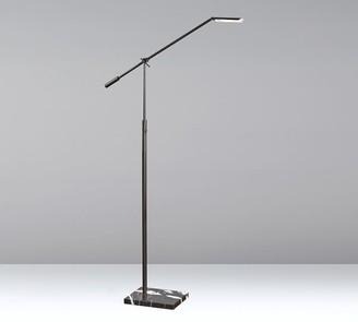 Pottery Barn Post LED Marble Floor Lamp