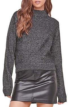 ASTR the Label Arabella Mock Neck Sweater