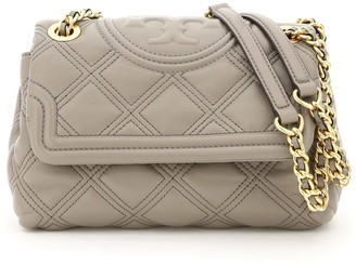 Tory Burch Small Quilted Fleming Soft Bag