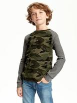 Old Navy Crew-Neck Thermal Tee for Boys