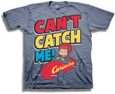 Freeze Toddler Boys Graphic Tees Curious George Graphic T-Shirt-Toddler Boys