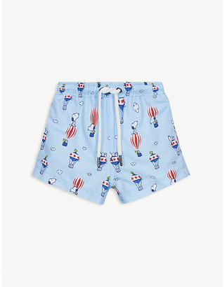 Sunuva Snoopy swim shorts 3-24 months