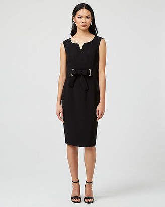 Le Château Knit V-Neck Dress