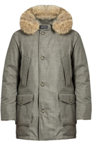 Woolrich Arctic fur-trimmed hooded down parka