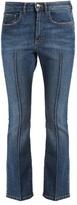 Sonia Rykiel Mid-rise kick-flare jeans