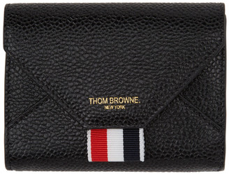 Thom Browne Black Envelope Card Holder