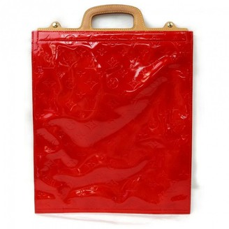 Louis Vuitton Red Patent leather Handbags