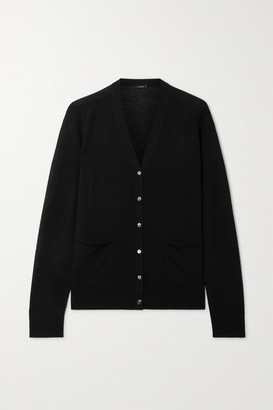 Joseph Wool Cardigan - Black