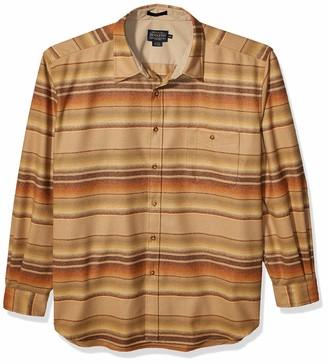 Pendleton Men's Long Sleeve Classic Fit Trail Wool Shirt