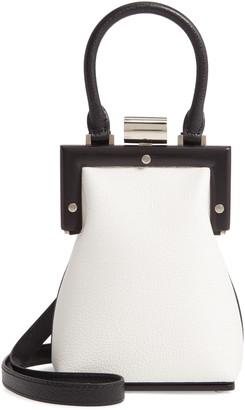PERRIN Le Mini Leather Top Handle Bag