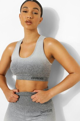 boohoo Ombre Official Sports Bra