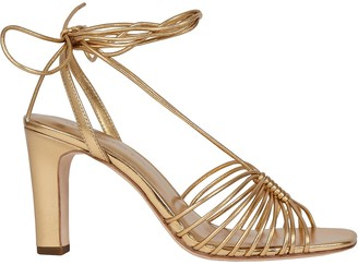 Loeffler Randall Hallie Strappy Leather Sandals