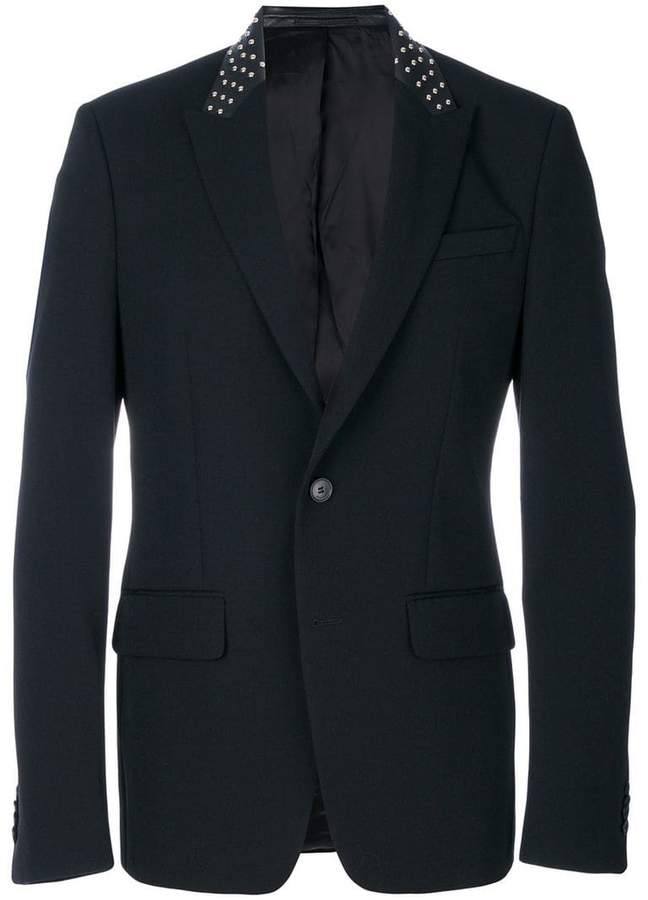 Givenchy studded collar blazer