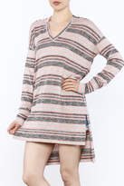 Bobi Los Angeles Striped Tunic Hood