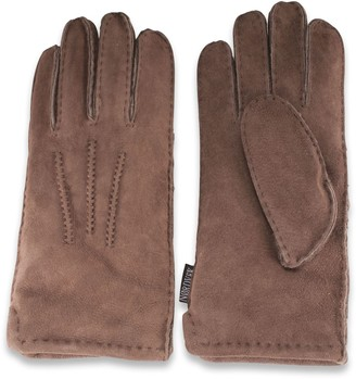 Nordvek Ladies Sheepskin Gloves - Thick & Warm Suede # 305-100