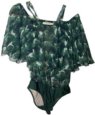 Adriana Degreas Green Silk Swimwear for Women