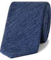 Sand Textured Plain Silk Tie