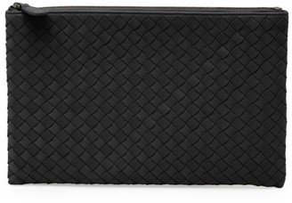 Bottega Veneta Medium Leather Pouch