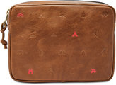 Fossil Men's Camp Leather Pouch
