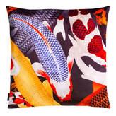 Arlette Ess Koi II Large Velvet Floor Cushion Style 2