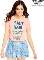 Aeropostale Salt Hair Cropped Graphic T