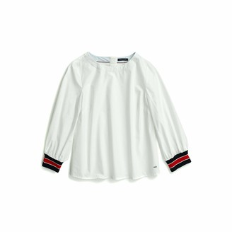 Tommy Hilfiger Women's Adaptive Long Sleeve Tunic with Magnetic Closure