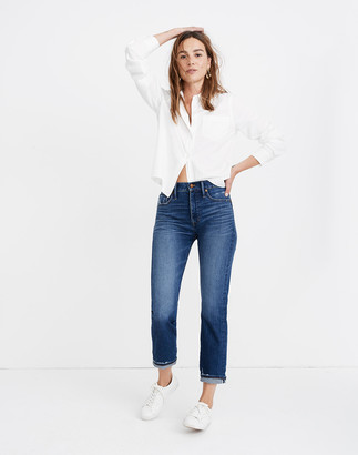 Madewell Tall Classic Straight Jeans: Selvedge Edition